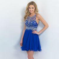 Short Prom Dresses Royal Blue - Boutique Prom Dresses