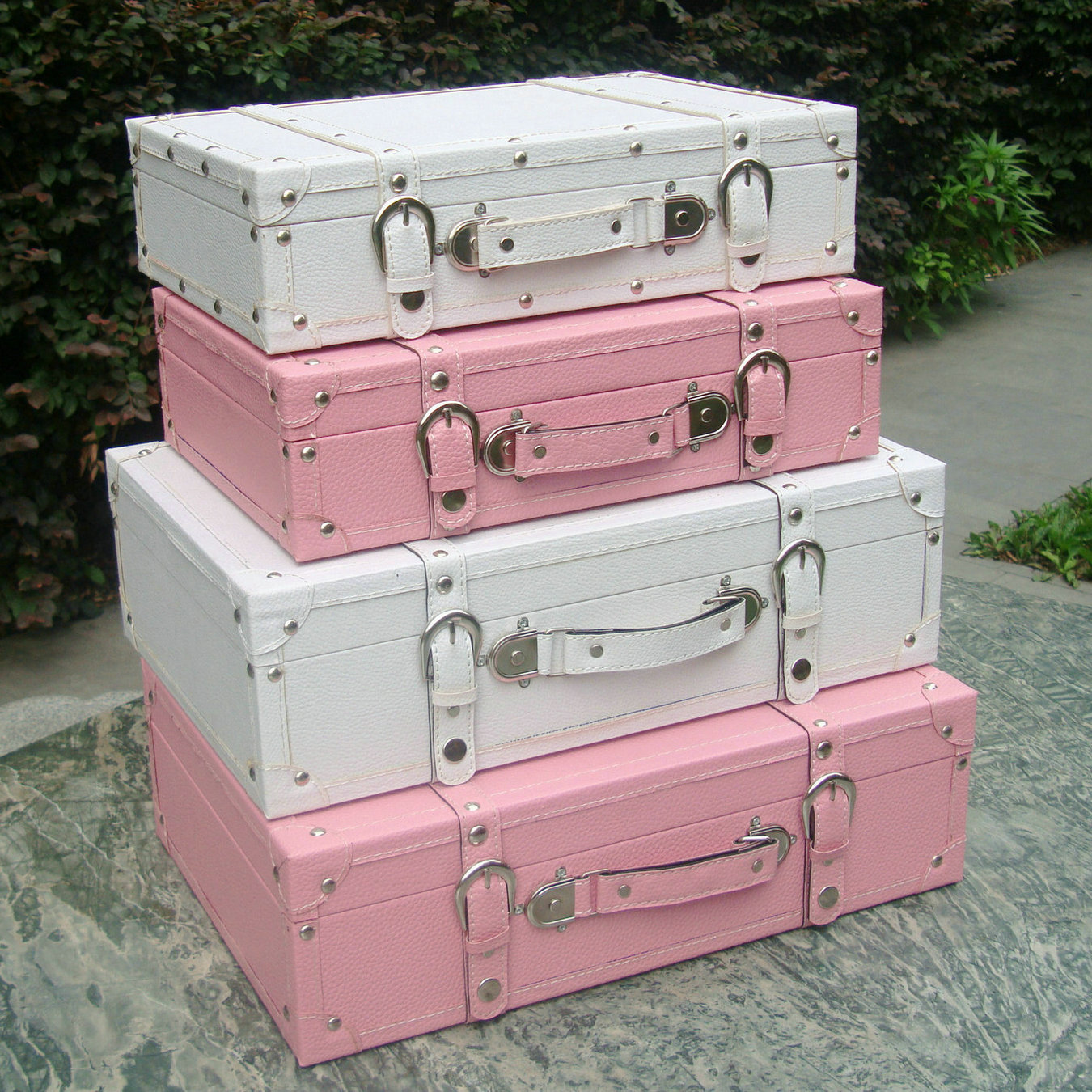Vintage Decorative Suitcases Fashion Vintage Suitcase Storage Box Suitcase Wooden Box