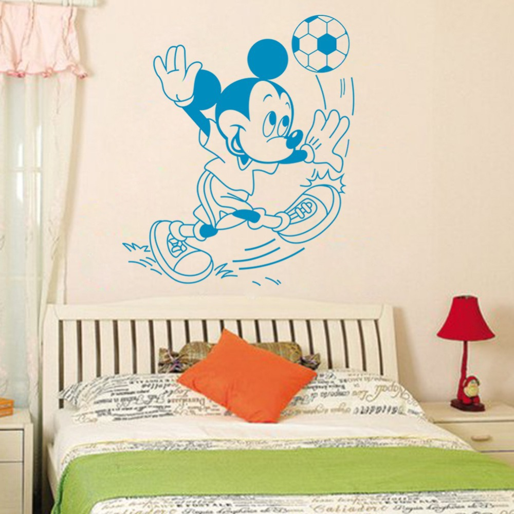 cartoon mickey mouse wall background removable wall stickers art mickey friends mickey mouse clubhouse capers wall stickers