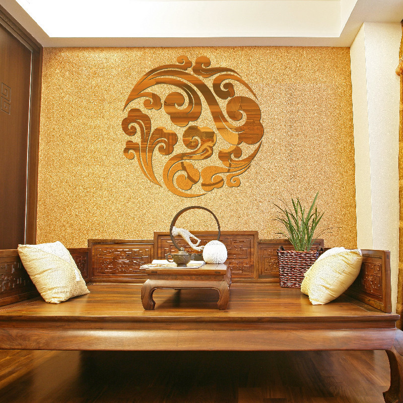 mirror wall stickers living room bedroom diy decoration wall stickers mirror sticker modern wall decor ideas light room design