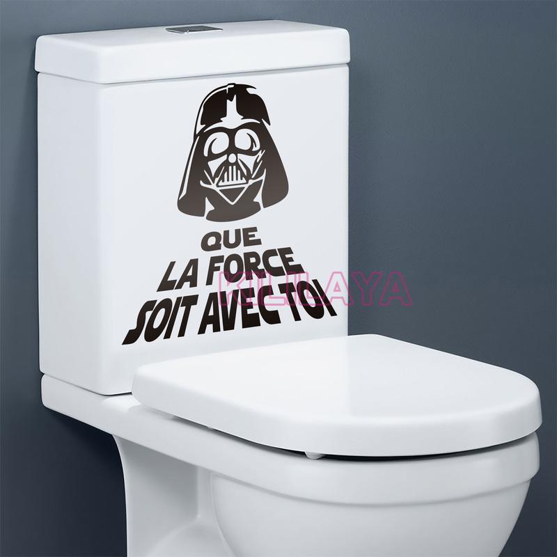 toilet wc stickers vinyl wall sticker star war french toilet sticker wall stickers toilet idiomas