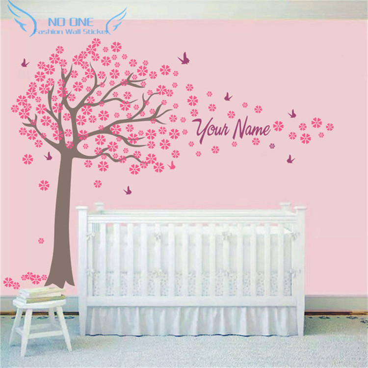 custome girl boy wall stickers home decor baby bedroom wall home quotes girls rules bedroom wall art sticker