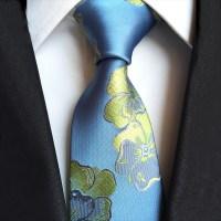 Mantieqingway Brand Men Ties for Wedding Paisley Flower ...
