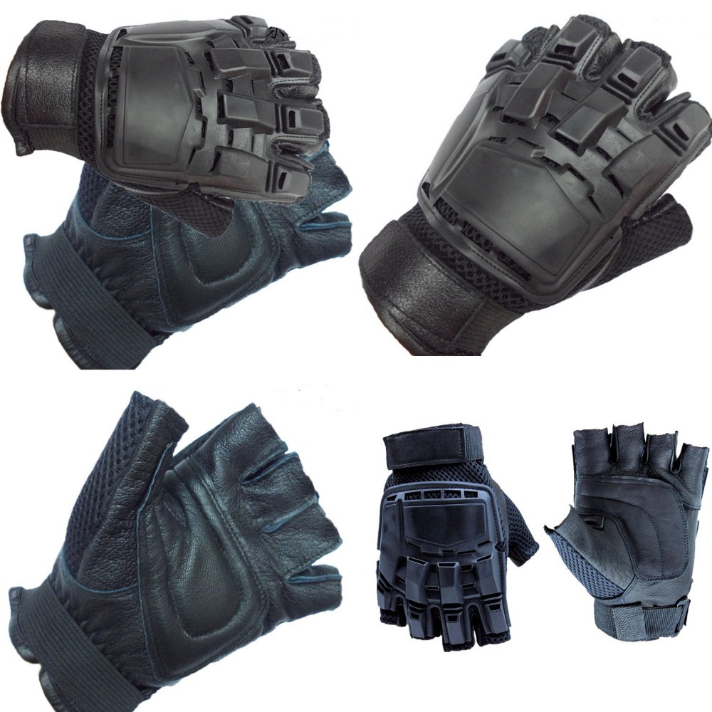 Mens half fingers tactical shooting specialized gloves male fingerless mountain bike cycling motorcycle glove