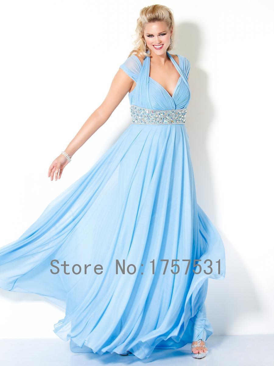 Plus Size Wedding Dresses Royal Blue