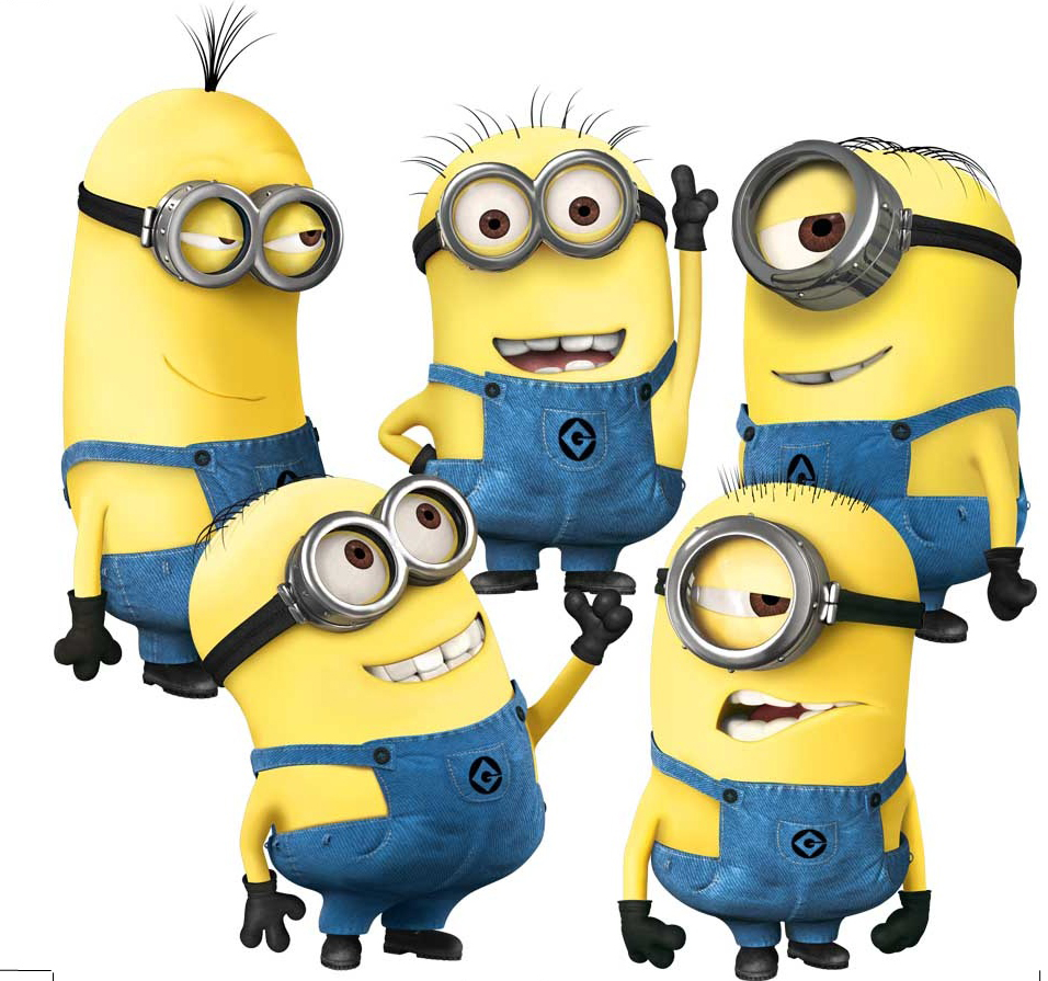cartoon despicable minions wall stickers kids room baby wall wall sticker cartoon cartoon character wall sticker