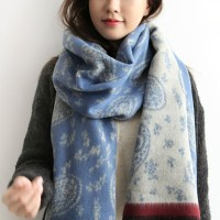 ladies scarves 2017 winter fashion warm flower scarf for ...