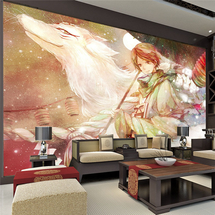 Custom Large Anime Photo Wallpaper Room Decor Natsume S - Anime Schlafzimmer