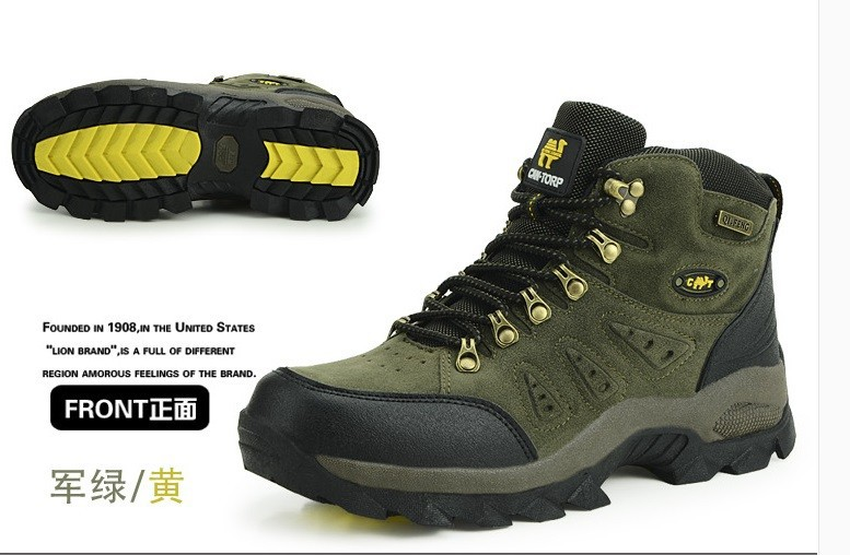 Non Slip Outdoor Hiking Shoes Men Women Shoes Walking