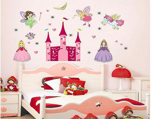 wall stickers small kids baby girls wall sticker room decoration personalised goodnight moon baby girls wall sticker decals