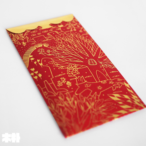 FIRST-LINE-Large-Capacity-Designer-Hongbao-Red-Envelope-Red-Packet - lined papers
