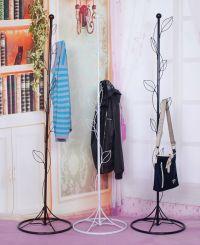 Leaf shape coat rack for living room bedroom hat racks ...