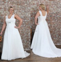 Plus Size Chiffon Wedding Dresses | www.imgkid.com - The ...