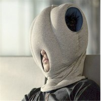 Ostrich Pillow Reviews. Ostrich Pillow Travel Size Bed