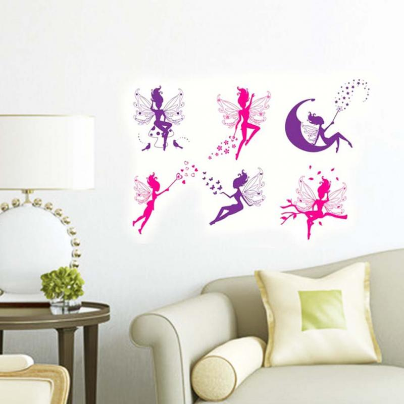 wall stickers flower fairy home decoration wall decals children wall decoration finding nemo wall sticker decor decals removable vinyl