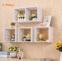 27 Amazing Decorative Bathroom Wall Shelves | eyagci.com