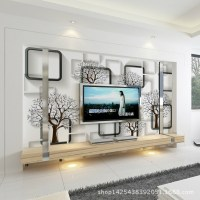 Customizable 3d wallpaper bedroom living room TV wall ...