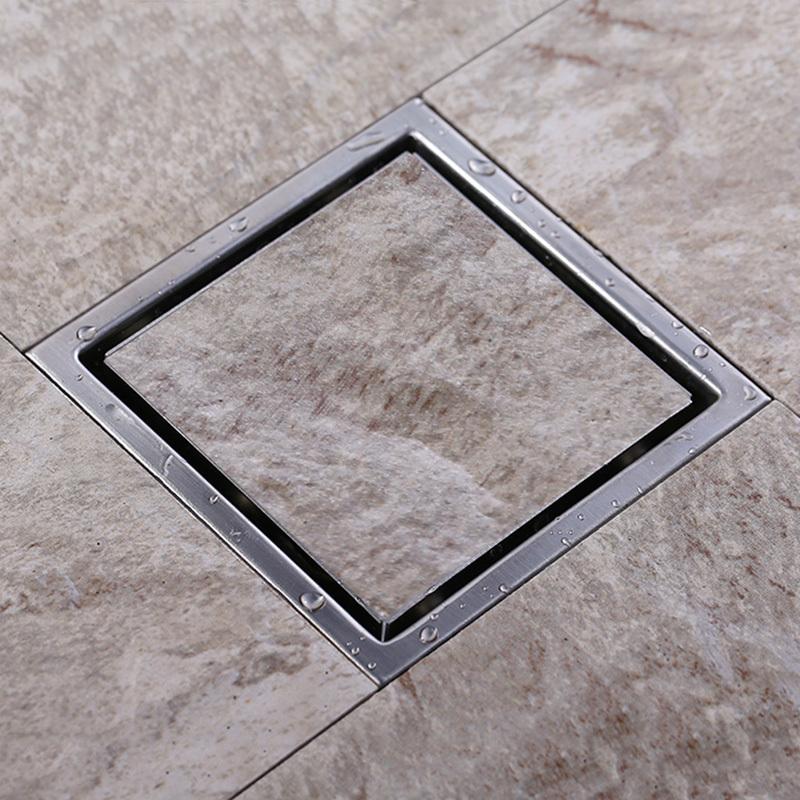 Tile Insert Square Floor Waste Grates Bathroom Shower