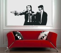 Pulp Fiction Movie Vinyl Wall Art High Quality Vinyl Wall