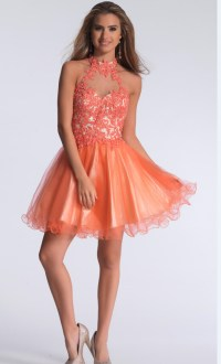 Popular Coral Homecoming Dresses