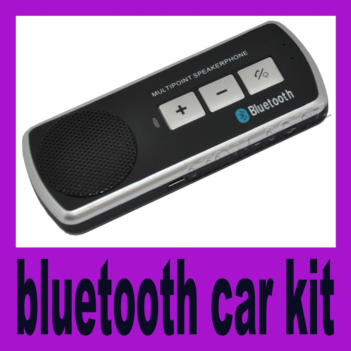 Kit Bluetooth Manos Libres Multipunto Con Altavoz Car Kit Manos Libres Bluetooth Para