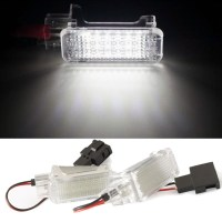 Qook 2pcs LED Door Welcome Interior Light Courtesy Lamp ...