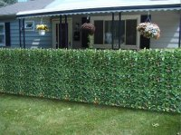 Fire Resistant Photinia Hedge Artificial Plastic Fence ...