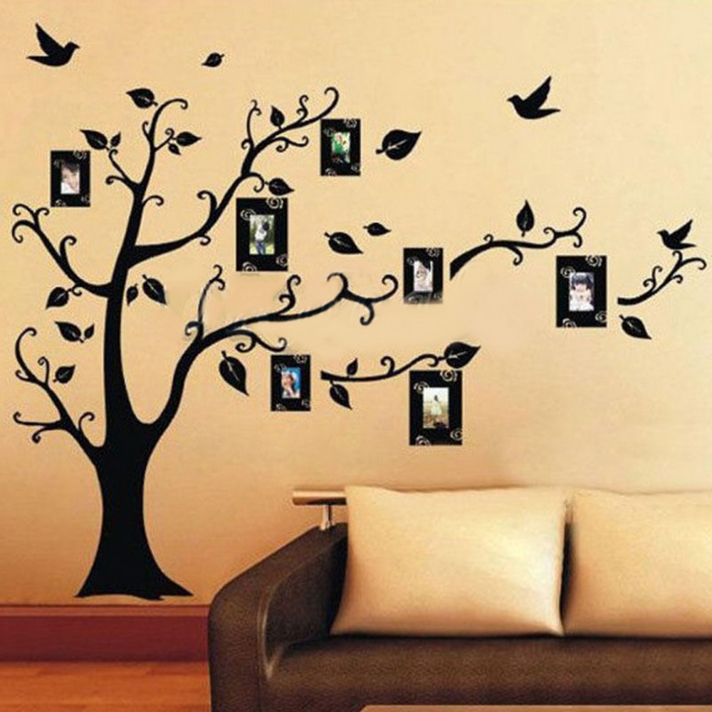 top sale photo tree wall stickers removable decal home decor sale wall sticker commercial window wall stickers christmas