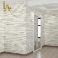 Simple Modern Grey Horizontal Striped Wallpaper 3D Living ...