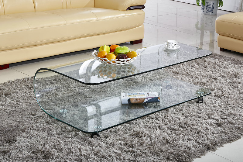 Tempered Glass Couchtisch Tempered Glass Office Furniture-kaufen Billigtempered