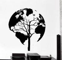 Popular Silhouette Tree Wall Decal-Buy Cheap Silhouette ...