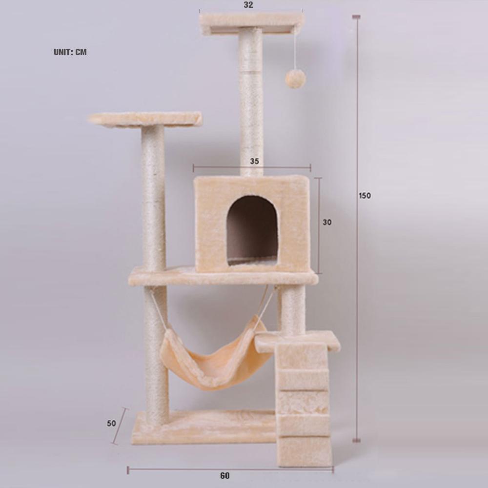 Furniture felt cats house hammock pet house wholesale price 50 60 150