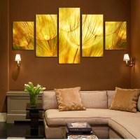 Popular Gold Wall Art-Buy Cheap Gold Wall Art lots from ...