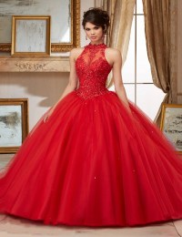 2016 Rubydress Hot Sale Sexy Red Quinceanera Dresses Ball ...