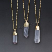2015 Hot Sale Fashion DIY Quartz Crystal Pendant Necklace ...
