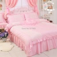 Elegant Pink Queen Comforter Set Designer Brand Egyptian