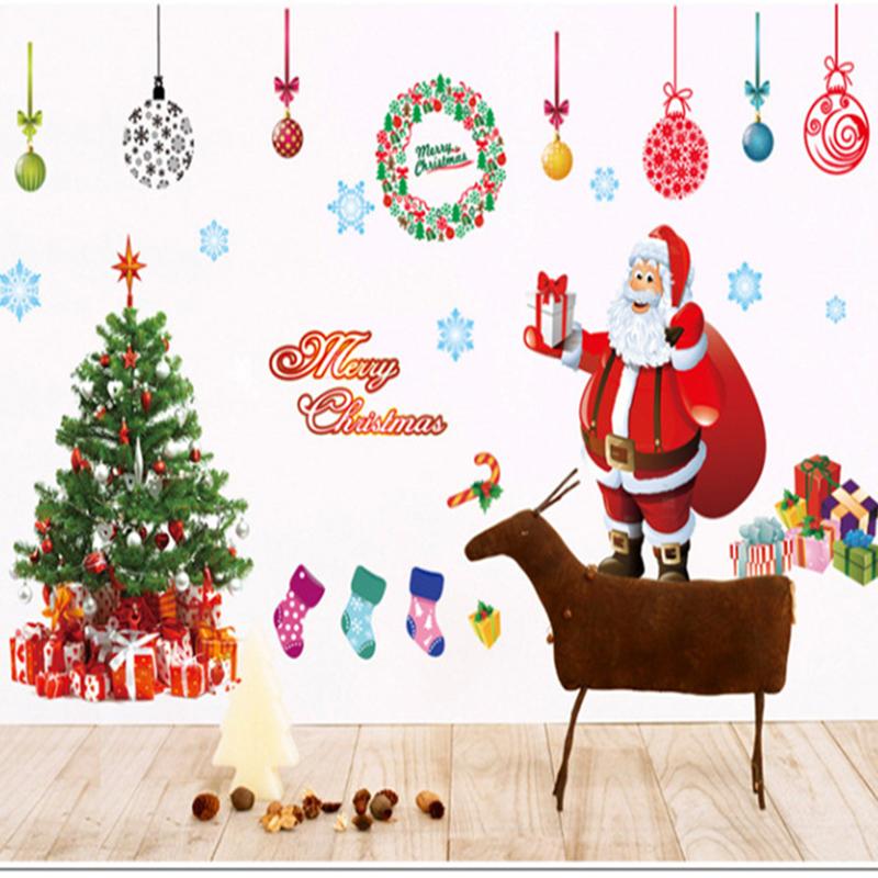 aliexpress buy shipping merry christmas wall sticker diy merry christmas antler wall sticker snuggledust studios
