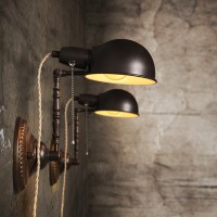Nordic Wall Lamp European Industrial Wall Light Swing Arm ...