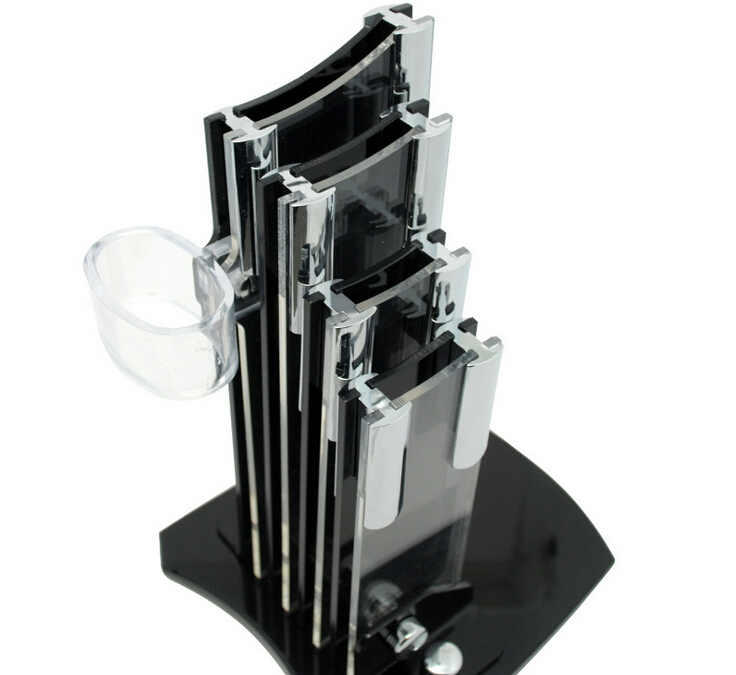 high quality black acrylic kitchen knife holder matelic image quality kitchen knives