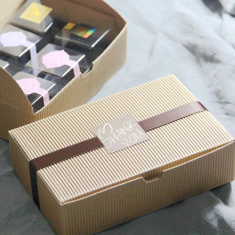 Valentine39s Day Diy Paper Craft Box Kraft Paper Cake Boxes