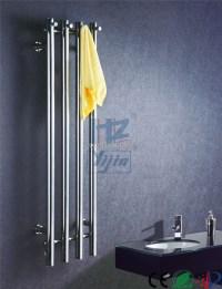 stainless steel vertical heated towel rail towel warmer ...