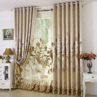 New Arrival Rustic Window Curtains For living Room ...