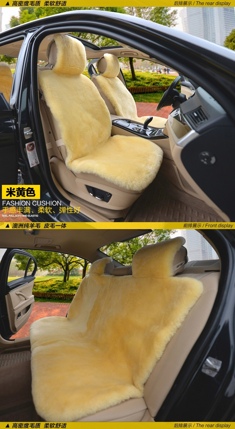 Car Seat Cushions Australia Muniuren 100 Australia Wool Car Seat Covers Winter High Quality Whole Piece Of Genuine Wool Pad Fur Sheepskin Seat Cushion