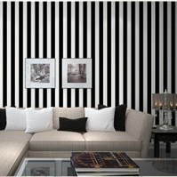 Stripe wall paper home decor background wall wallpaper ...