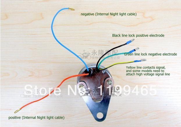 tachometer wiring diagram mini bike scooter