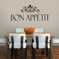 Bon Appetit kitchen wall stickers home decor living room ...