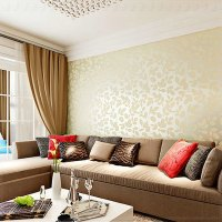 Wallpaper Designs For Living Room