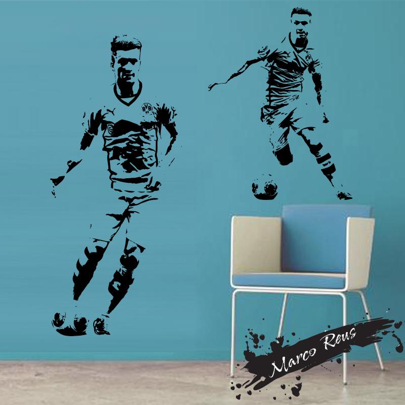 design cheap home decoration vinyl marco reus art wall sticker pics photos designs wall stickers wall art decals decor