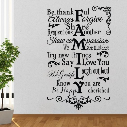 family creative quotes wall sticker english words stickers art mural photos home words quotes wall stickers love love love wall sticker