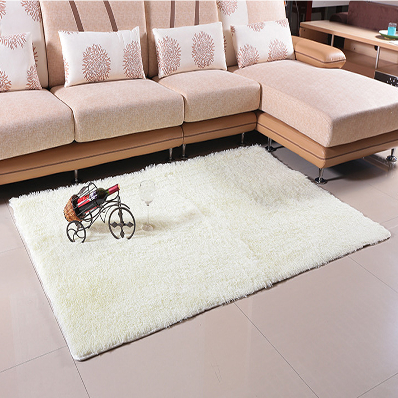 Floor Mats Shaggy Area Rugs And Carpets For Living Room - Alfombras Para Sala
